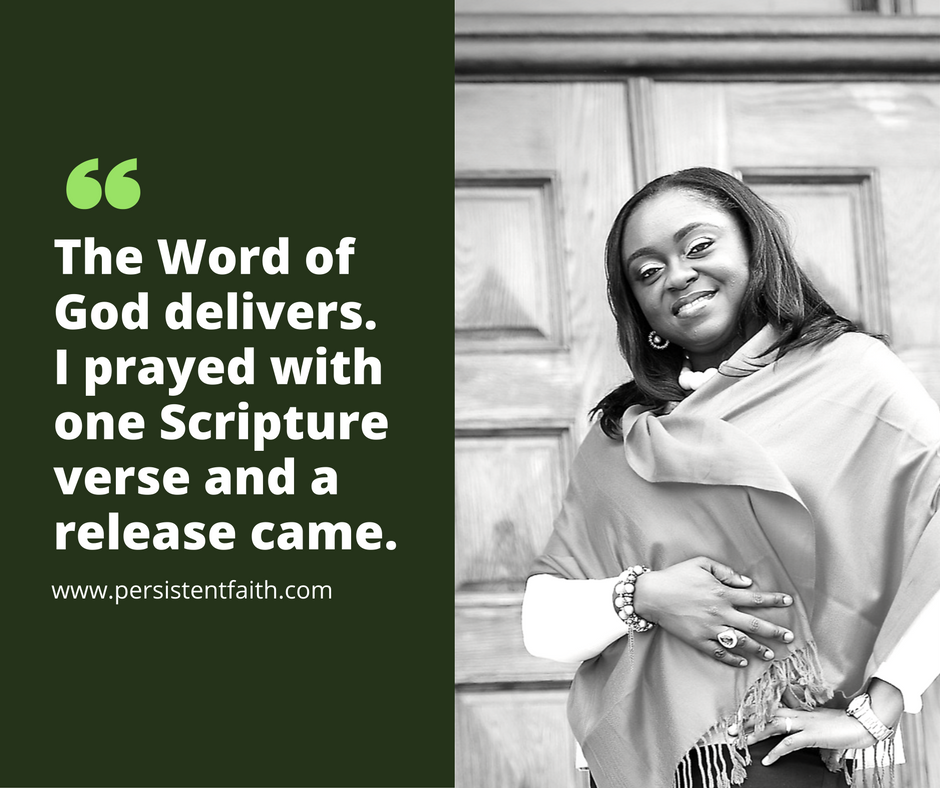pray God's Word