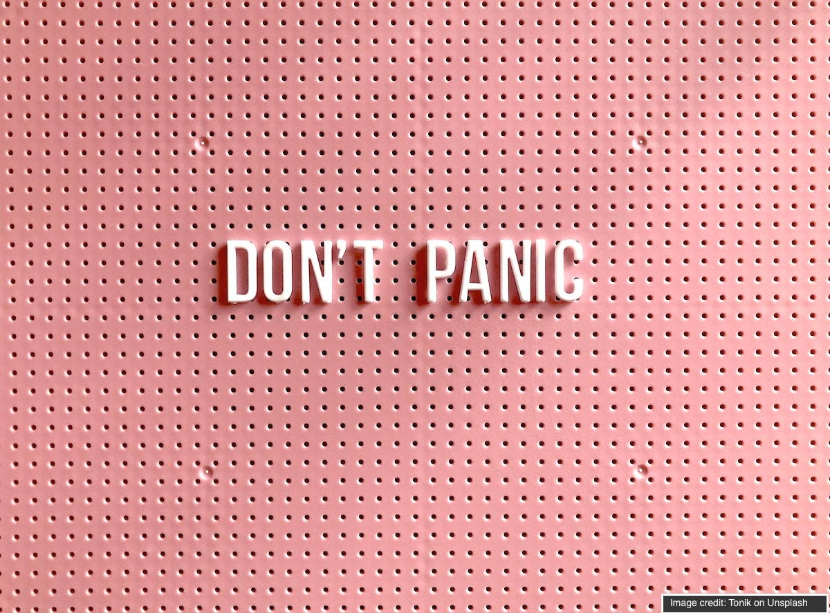 don't panic in crisis